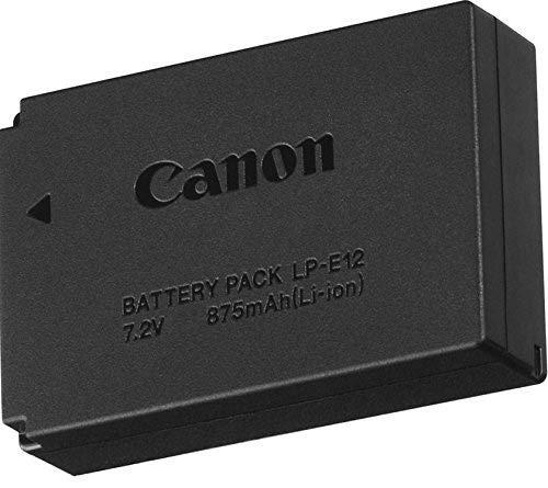LP-E12 Batería para Canon LP-E12 Canon EOS M M2 M10 M50 M100 M200 EOS 100D EOS Rebel SL1 EOS Kiss X7 PowerShot
