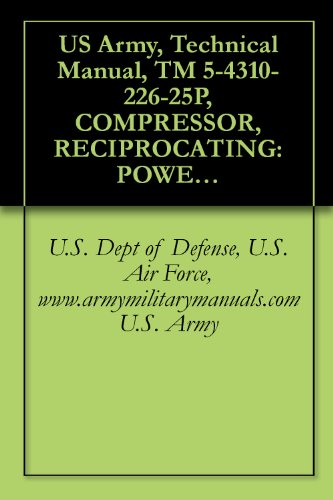 US Army, Technical Manual, TM 5-4310-226-25P, COMPRESSOR, RECIPROCATING: POWER GASOLINE ENGINE, 4.00 CFM, 3000 PSI, (STEWART-WARNER MODEL 3800219), (FSN ... military manauals, special forces