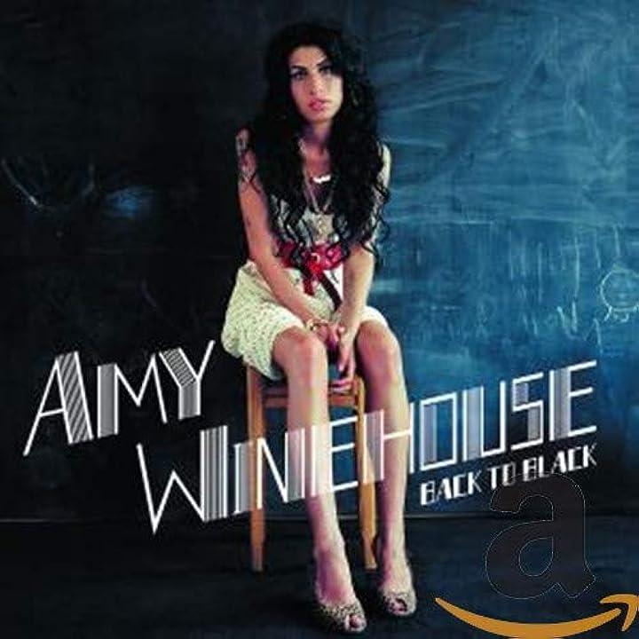Amy winehouse - back to black - cd audio  universal music 6 3 01714211