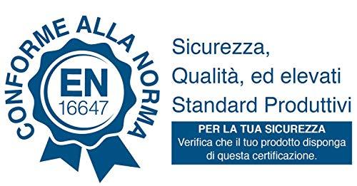 Camino a Bioetanolo da Tavolo 35x60 cm Karlsen Mantova Nero