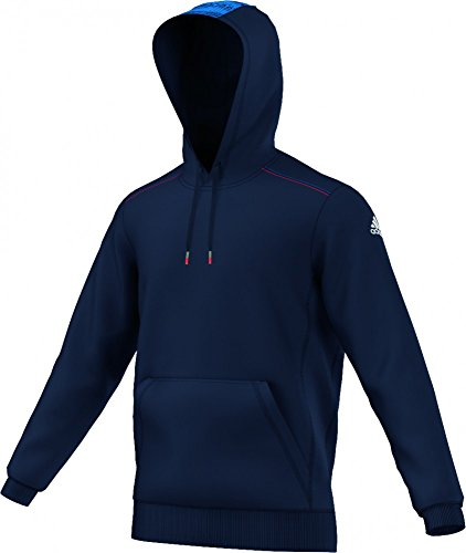 Adidas 2015-2016 Champions League Hooded Sweat Top (Navy)