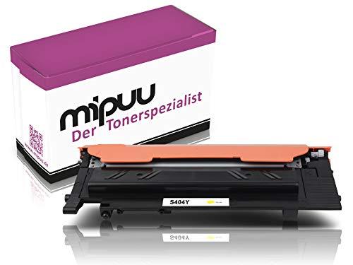 Mipuu toner compatibel met Samsung CLT-Y404S (geel, SU444A) printercartridge voor Samsung Xpress C480fw C480w C430 C430w C480 C480fn C482w Laserprinter