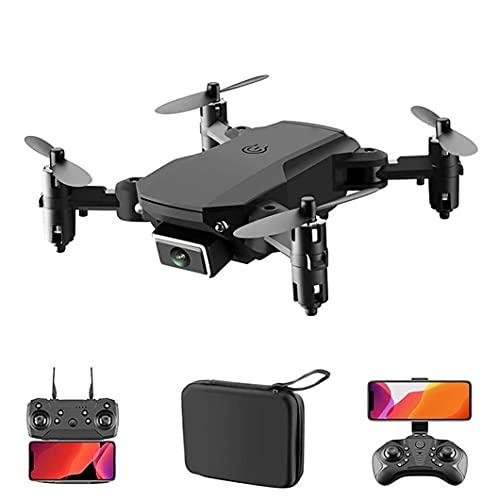 LYHY Drones con cámara para Adultos 720P, Mini avión Plegable HD 720P Fotografía aérea Avión de Juguete con cámara Dual, Avión de Larga duración