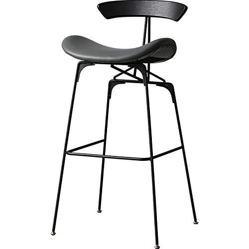 Bar Stools - Taburete de bar (madera), color negro