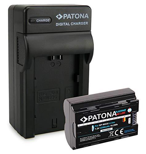PATONA NP-W235 Platinum Batería con Cargador Compatible con Fuji Fujifilm X-T4 XT4
