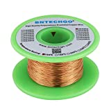 BNTECHGO 30 AWG Magnet Wire - Enameled Copper Wire - Enameled Magnet Winding Wire - 4 oz - 0.0098' Diameter 1 Spool Coil Natural Temperature Rating 155℃ Widely Used for Transformers Inductors