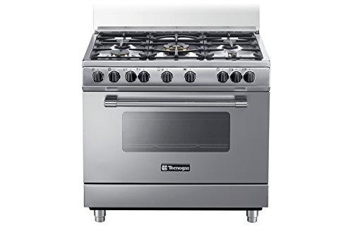 Tecnogas PP965MX Cucina freestanding Acciaio inossidabile Gas