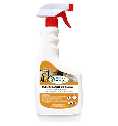Ecosoluciones Químicas ECO-111B | Desengrasante Neutro para Bicicletas | Protege todas las Piezas | Limpiador Profesional | 750 ml