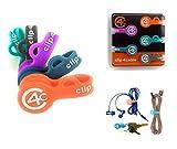 clip4cable - Magnetischer Kabelhalter, Kabelclips, Kabelklemme, Kabel-Management | Kopfhörer, USB...