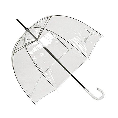 VON LILIENFELD Regenschirm Glockenform Design Alexis transparent/durchsichtig Gaultier