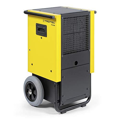 TROTEC Bautrockner TTK 500 (max. 70 l/h), geeignet für Räume bis 470 m³, leistungsstarker Rotationskompressor