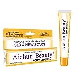 AICHUN BEAUTY Acne Scar Advanced Gel Cream Sunscreen Remove Old & New Scar SPF30 (SPF30)