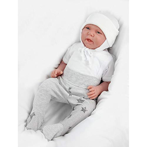 Pack of 2 TupTam Baby Newborn Hat with Ear Flaps