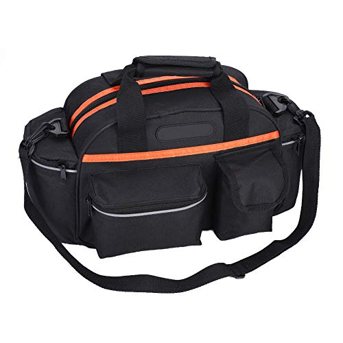 Bike Trunk Bag, Rear Bike Rack Bag Bike Luggage Bag, for Storage Repair Tools Storage Bag Rack Trunk Pouch Handbag Package Storage Some Articles of Daily Use