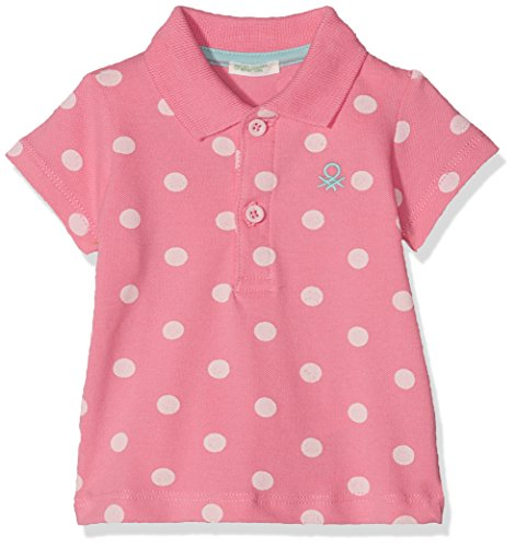 United Colors of Benetton United Colors of Benetton Baby-Jungen H/S Polo Shirt Poloshirt, Rosa (Pink 921), 56