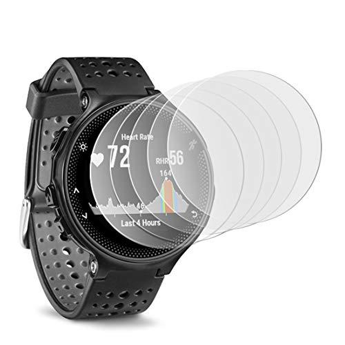 KARYLAX [Pack x6] Protector de pantalla para reloj inteligente Película de vidrio Nano Flexible irrompible Dureza 9H, Ultra Fin 0,2 mm y 100% Transparente para Matrix PowerWatch X Reloj Inteligente
