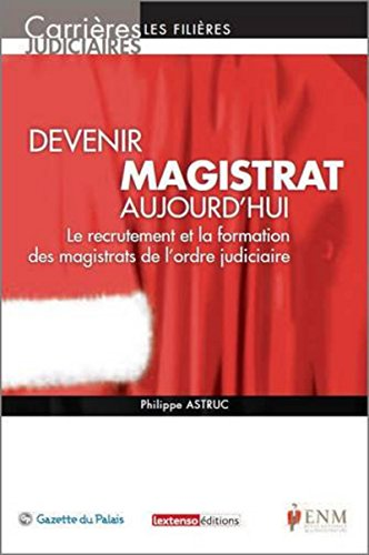 Mirror PDF: Devenir magistrat aujourd'hui