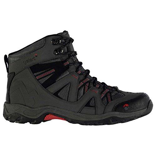 Gelert Herren Ottawa Mid Wanderstiefel Wanderschuhe Trekking Stiefel Outdoor Boots Charcoal 9 (43)