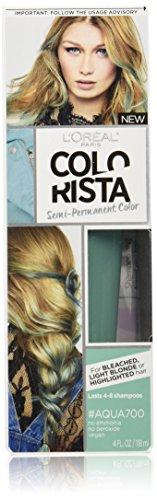 Price comparison product image L'Oreal Paris Colorista Semi-Permanent for Light Blonde or Bleached Hair,  Aqua