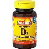 Sundance Vitamin D3 5000 IU Tablets, 60 Count