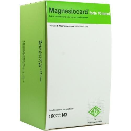 MAGNESIOCARD FORTE 10 MMOL Pulver 100St VERLA 4636278