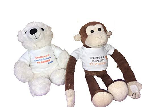 MIMI CREACIONES Peluches con Camiseta Personalizada