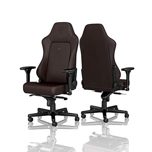 noblechairs Hero Sedia da Gaming - Sedia da Ufficio - Sedia da scrivania - Pelle PU Ibrida - 150 kg - 135° Reclinabile - Edizione Java