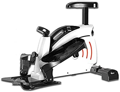 WTTO Mini Steppers, WithLCD Monitor Sports Stepper The Pedal with Massage Function Will Free You All The Tiredness at workFitness Exercise Machine,White_760 485 1200MM