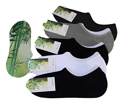 smart apparel Calcetín Invisible Pure de fibra de bamboo, 100% natural, anti antibacterias and Anti allergénique.