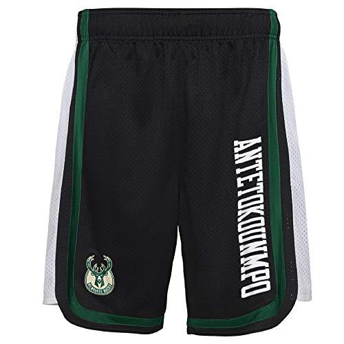 Z//A Pantalones De Milwaukee Bucks De Baloncesto Lloviendo Pantalones Breasted Correr Pantalones Deportes Flojo del Estudiante,S