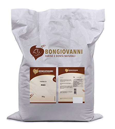Bongiovanni Farine e Bonta' Naturali Farina di Riso - 5 Kg