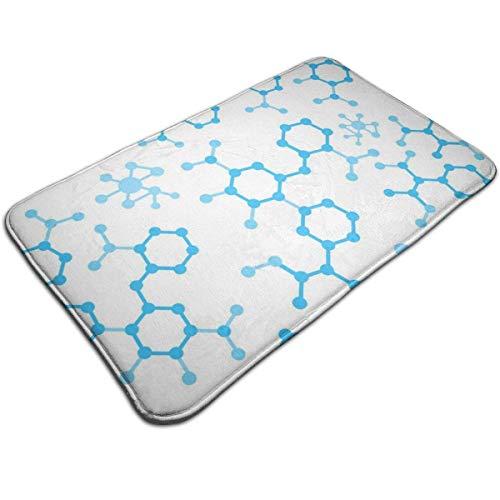 Cy-ril Flat Chem Compound Formeln Memory Foam Badematte Flanell rutschfeste Badezimmerteppiche Samt Türmatte Für Duschböden, Küche