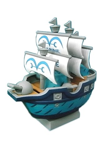 One Piece Marine Battle Ship Chara Bank (japan import)