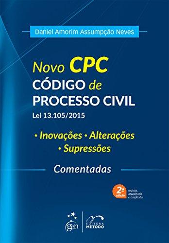 Novo CPC. Código de Processo Civil