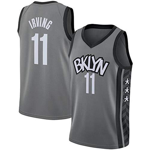 JHJU Nets No. 11 Irving - Uniforme de entrenamiento unisex, chaleco deportivo al aire libre, transpirable y de secado rápido M B