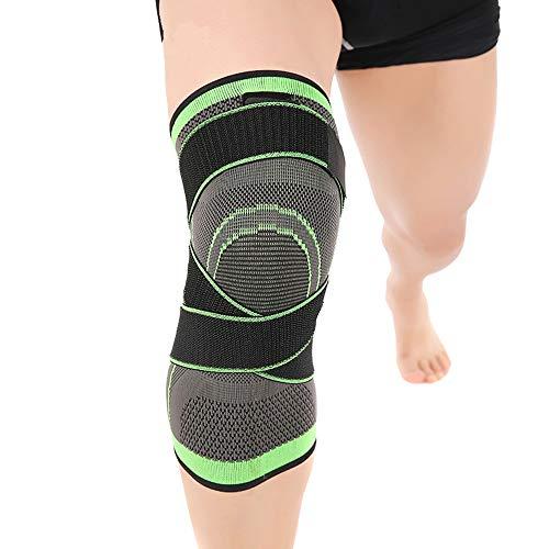 Always Insist on Success Sports Knit Basketball Kneepad Codera Leggings de equitación al aire libre elástico transpirable cálido antideslizante (Tamaño: XL)