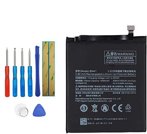 Upplus BN41 Batería de repuesto compatible con Xiaomi Note 4 Redmi Note 4 con kit de herramientas