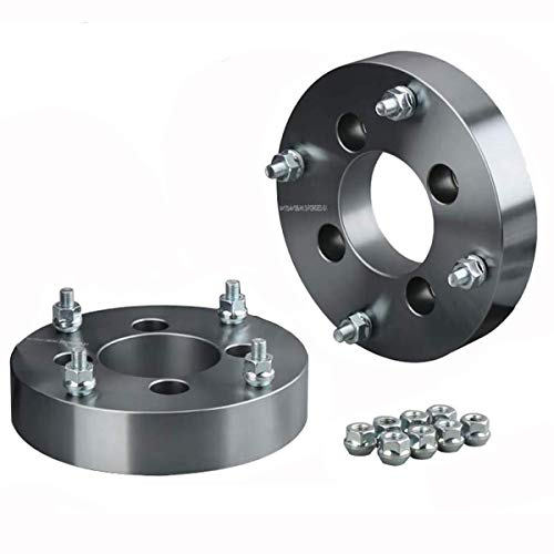KSP 4x110mm to 4x156mm ATV Wheel Spacers Adapters 1.5 inches with 3/8'-24 Studs, Compatible with Can-Am Arctic Cat Bombardier and More 4 Lug Wheel,2pcs