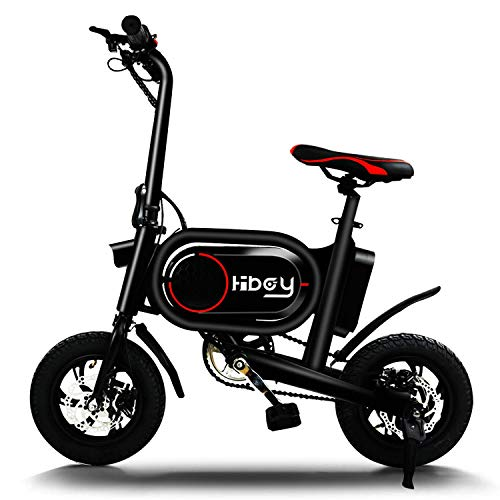 Hiboy P10 Folding Electric Bike for Adults, Power Assist, 36V Lithium Ion Battery, Ebike with 14...