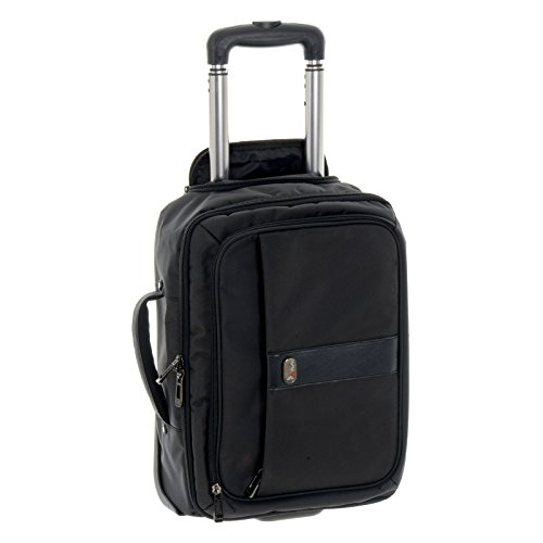 JAM Jackson On-Board Business Trolley Hand Luggage Case with 2 Wheels Padded 15.4 Inch Laptop Pocket and Telescopic Handle