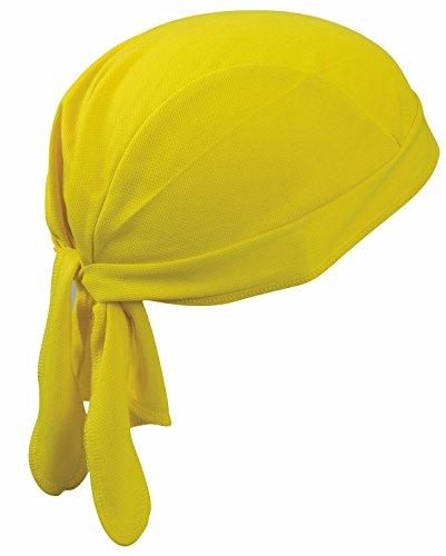 2Store24 Bandana Cap Atmungsaktiv/Funktions Bandana Cap in gelb
