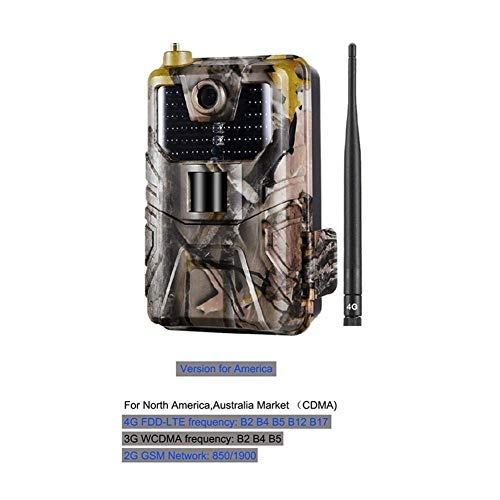 KUANGQIANWEI wildcamera HC-900LTE 4G-jachtcamera 16 MP camera-tracking 940 nm camera-val 0,3 s MMS/SMS/SMTP/FTP Wilde camera 44 LED jachtcamera IP65