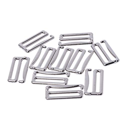niumanery 10pcs Metal Bra Hook Suspender Clip Corset Garter Belt Clasp Lingerie Supplies