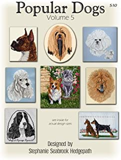 Pegasus Originals Popular Dogs Volume 5 Counted Cross Stitch Chart Collection