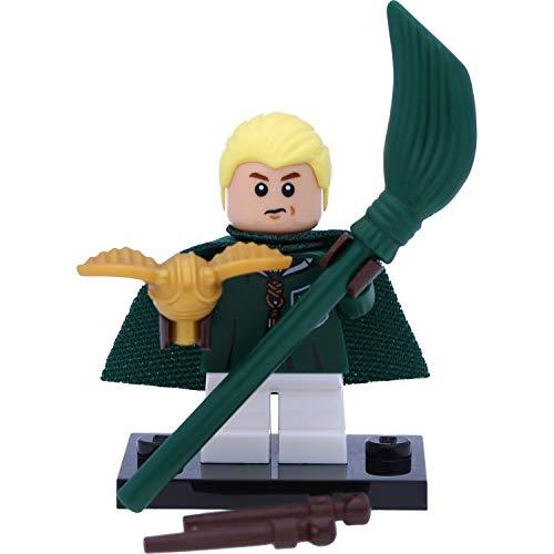 LEGO 71022 Harry Potter Mini personaggio in confezione regalo #4 Draco Malfoy con boccaglio e scopa volo
