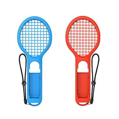 worahroe Raqueta de Tenis del Sensor de Games Accesorios Cuerpo de 2 unids Izquierda y Derecha para Nintend Switch NS para Mario Tennis Ace Games