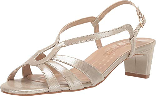 Walking Cradles Leandra New Gold Sparkle Leather 7