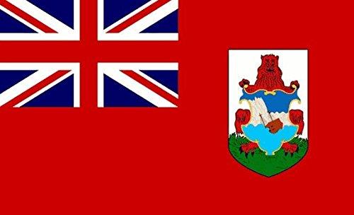 Bermuda Flagge 5ft x 3ft groß–100% Polyester–Metall Ösen–doppelt genäht