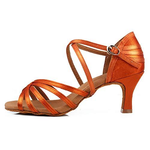 HIPPOSEUS Zapatos de Baile Latino para Mujer Salón de Baile Fiesta clásica...