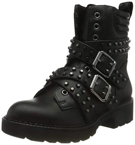 Buffalo Damen Miley Mode-Stiefel, Black, 37 EU